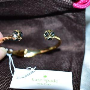 KATE SPADE LADY MARMALADE BLACK DIAMOND BRACELET
